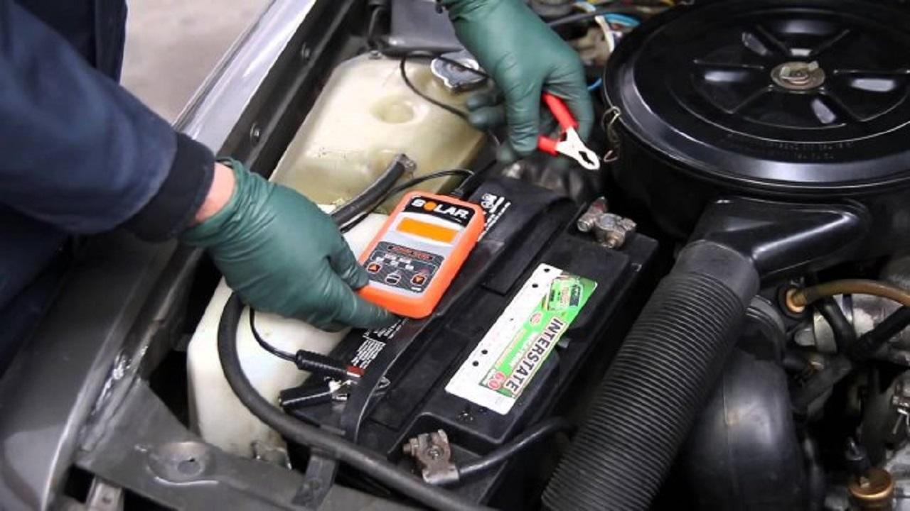 دما عامل تخریب باتری ماشین