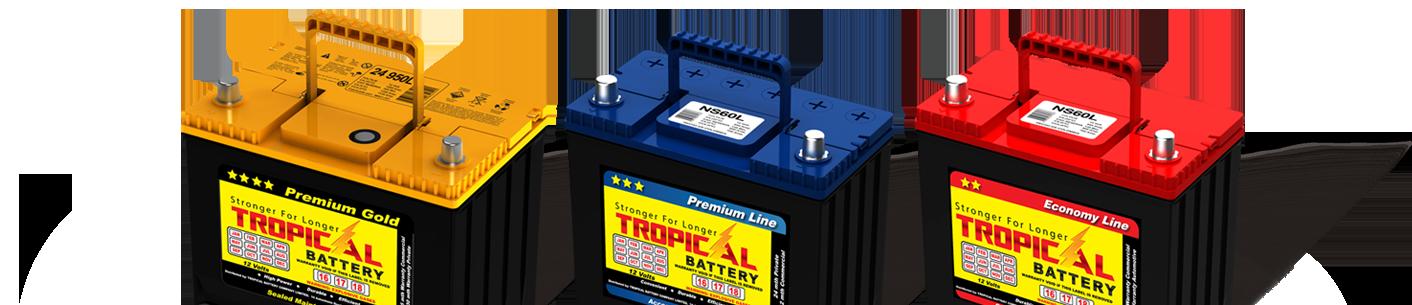باتری گرمسیری یا تروپیکال